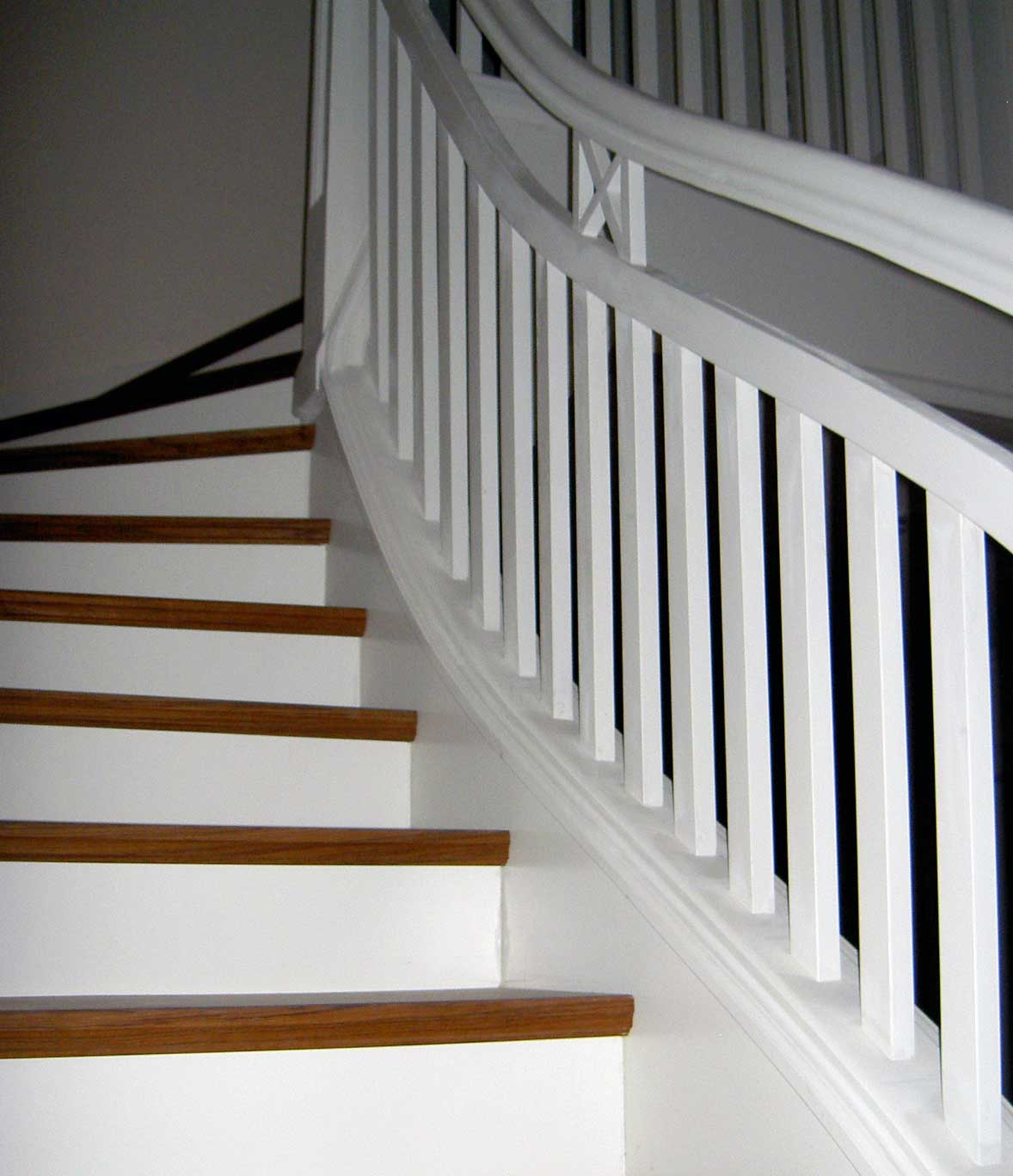 Herstellung historischer Treppen